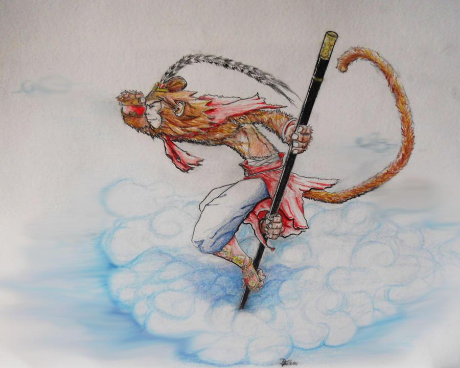 Skin Idea Monkey King Samuro Heroesofthestorm