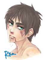 Eren again by Rikachu-R1