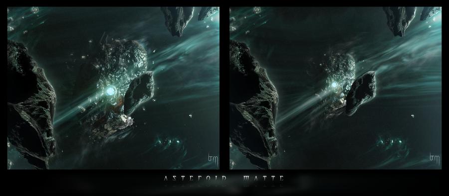 Asteroid Matte by NeroVII