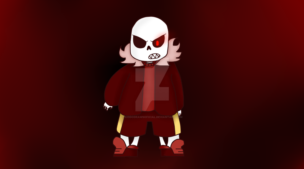 FellSans Underfell AU by KiddoDrawsOficial