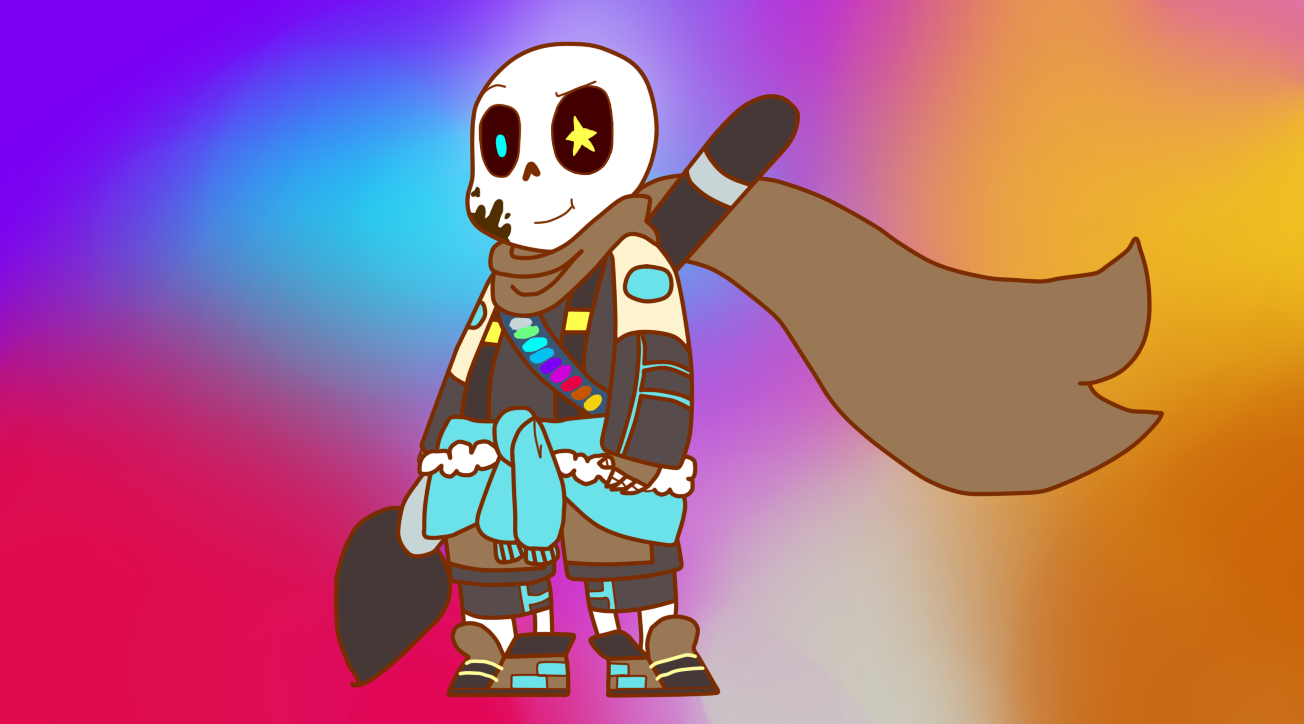 Ink!Sans InkTale AU by KiddoDrawsOficial