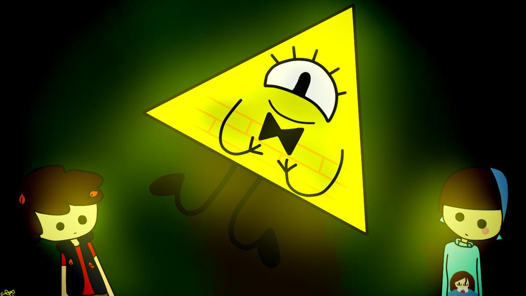 Gravity Falls (The talking triangle?) by KiddoDrawsOficial