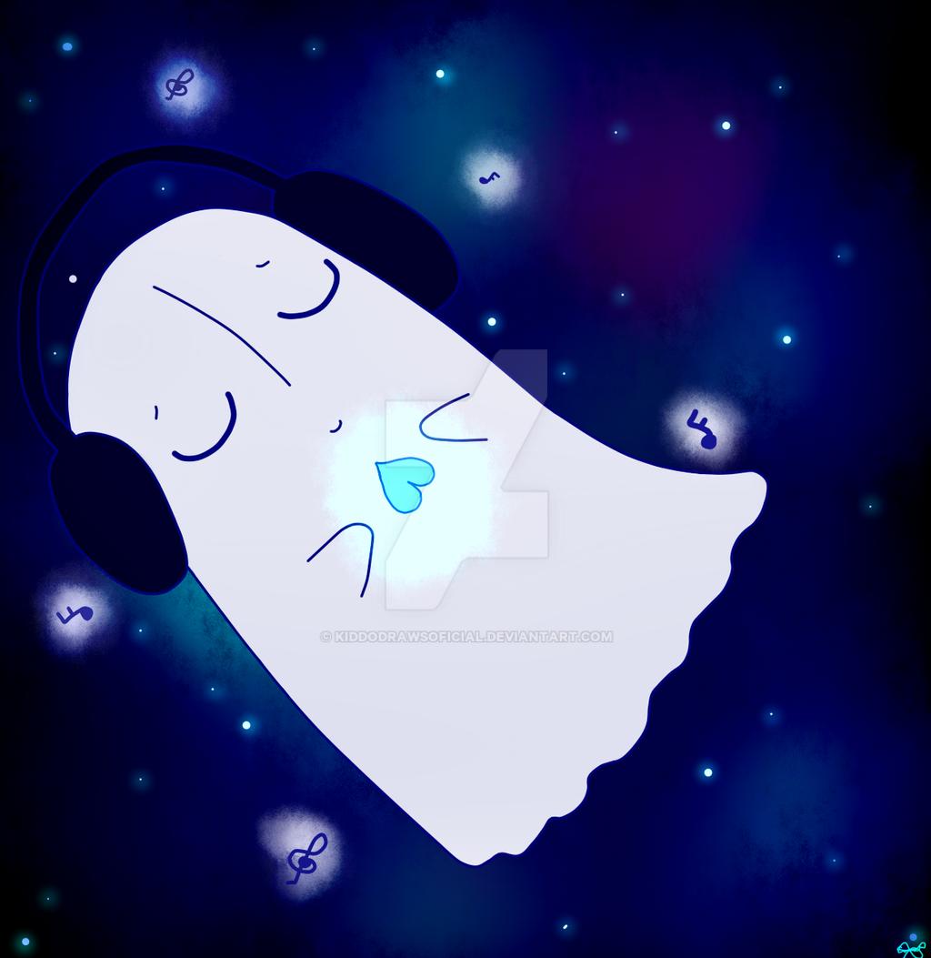 Undertale Napstablook~ by KiddoDrawsOficial