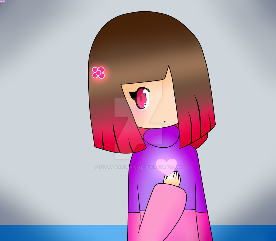*Betty from Glitchtale* + SPEEDPAINT for Cami by KiddoDrawsOficial