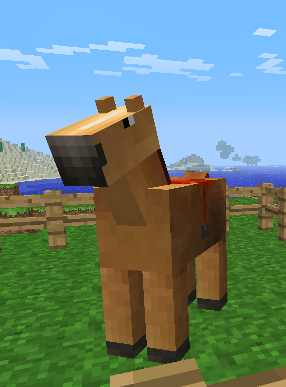 Horses Soon To Be Added Minecraft 4 Xbox Net