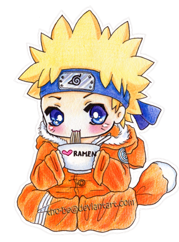 Commission: Naruto chibi by tho-be