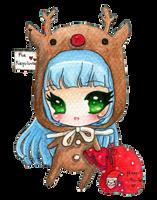 Random girl by Secret Santa by tho-be