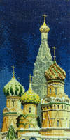 Cathedral - cross stitch