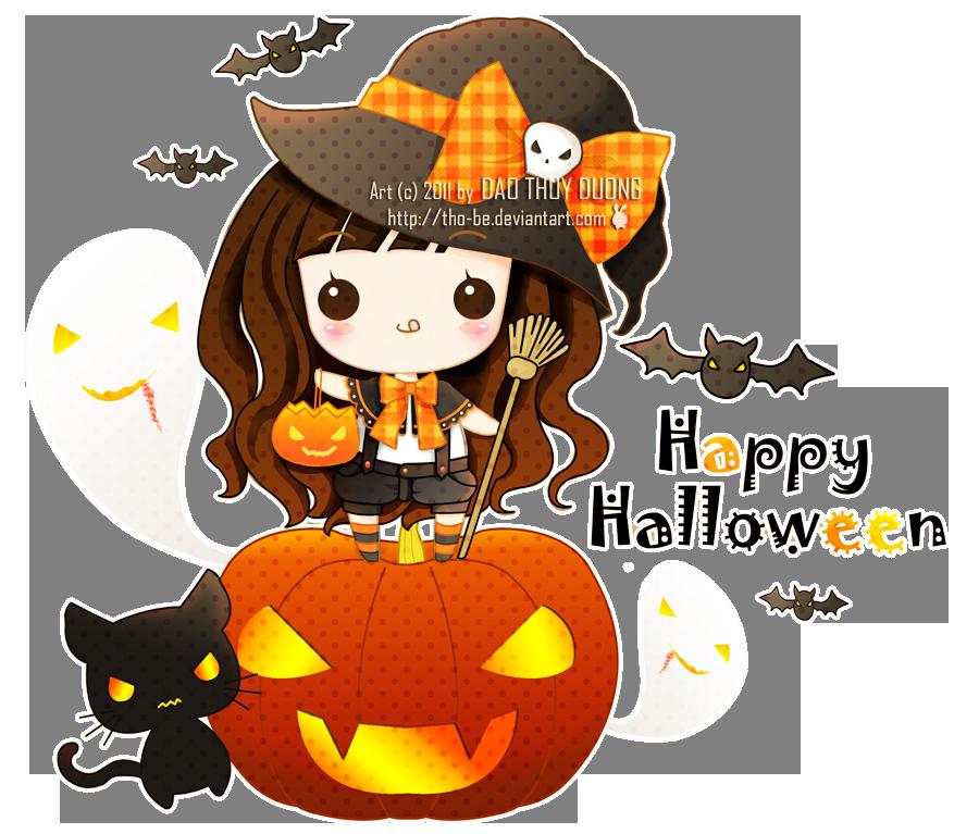Kawaii Halloween by tho-be on DeviantArt