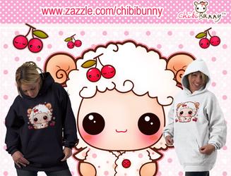 Kawaii sheep hoodie by tho-be