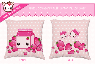 Milk carton pillow cover by tho-be