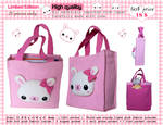 Cute bunny plush bag