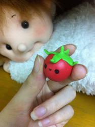 Chibi tomato by tho-be