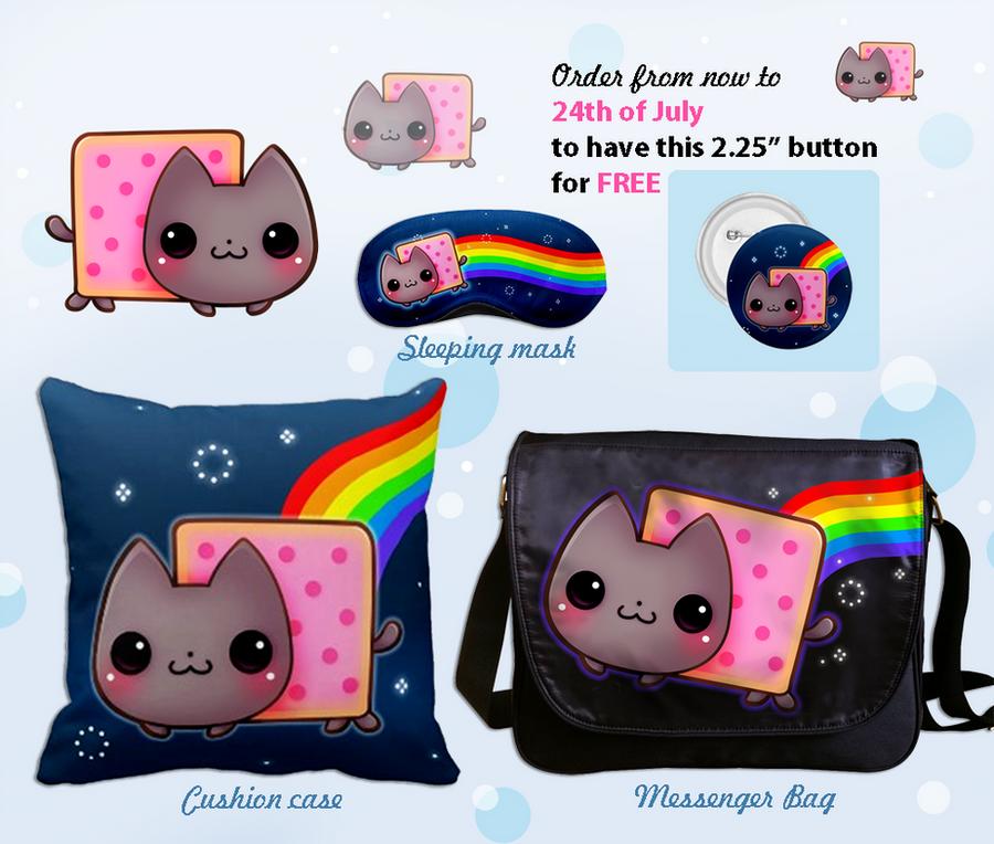 Kawaii Nyan cat by tho-be