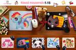Kawaii mousepads