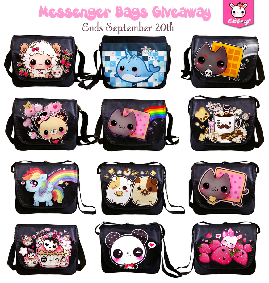 Messenger bag giveaway by tho-be on DeviantArt