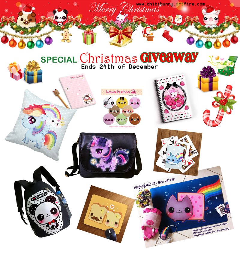 Christmas Giveaway by tho-be