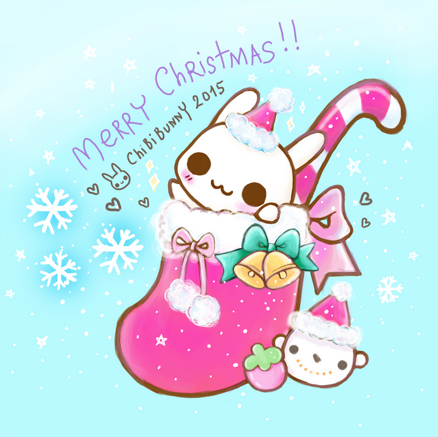 Merry Christmas Bunny by tho-be on DeviantArt