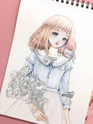 Spring girl w.i.p