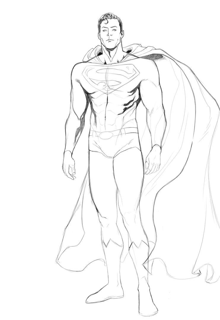 Superman Pencil by BuzzoTano
