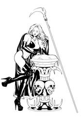 Lady Death by BuzzoTano