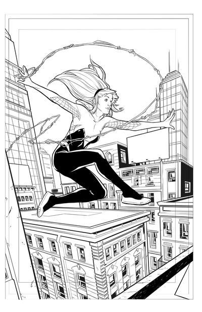 SpiderGwen by BuzzoTano