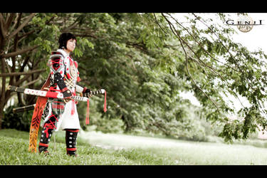 Minamoto Yoshitsune from Genji Dawn of The Samurai by Echow88