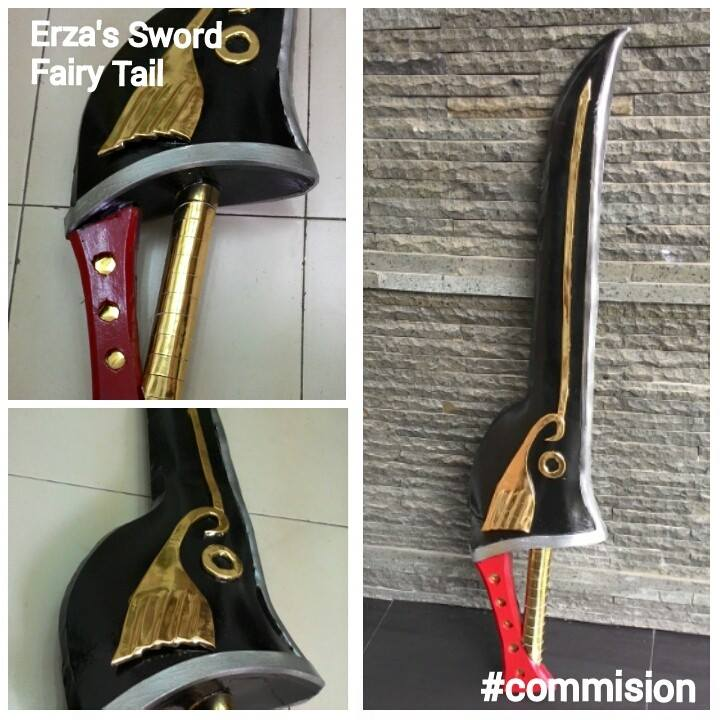 Erza's Sword by Echow88