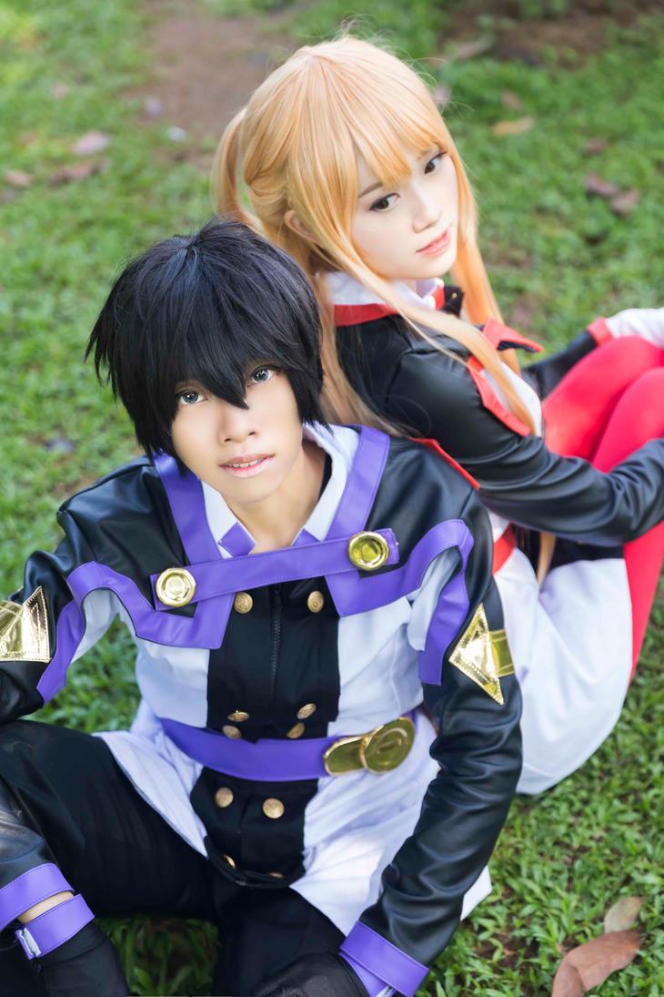 Kirito and Asuna by Echow88
