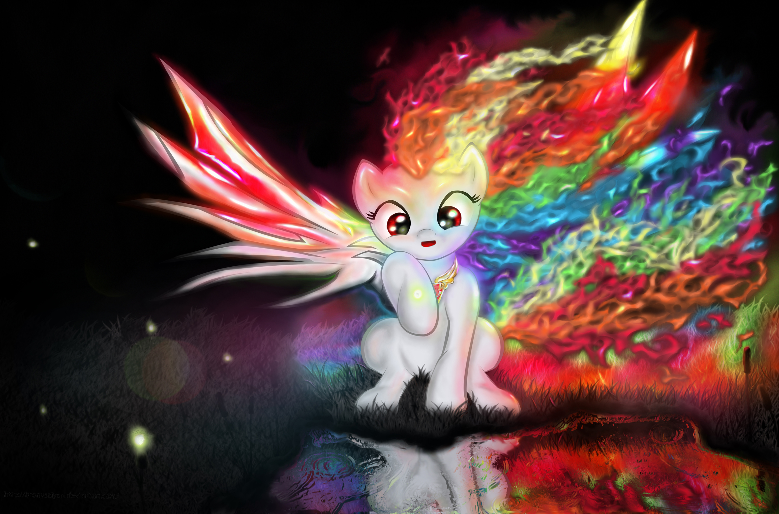 Burning Twilight Sparkle Vs Super Rainbow Dash