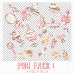 Png Pack #1 by ukari by U-kari