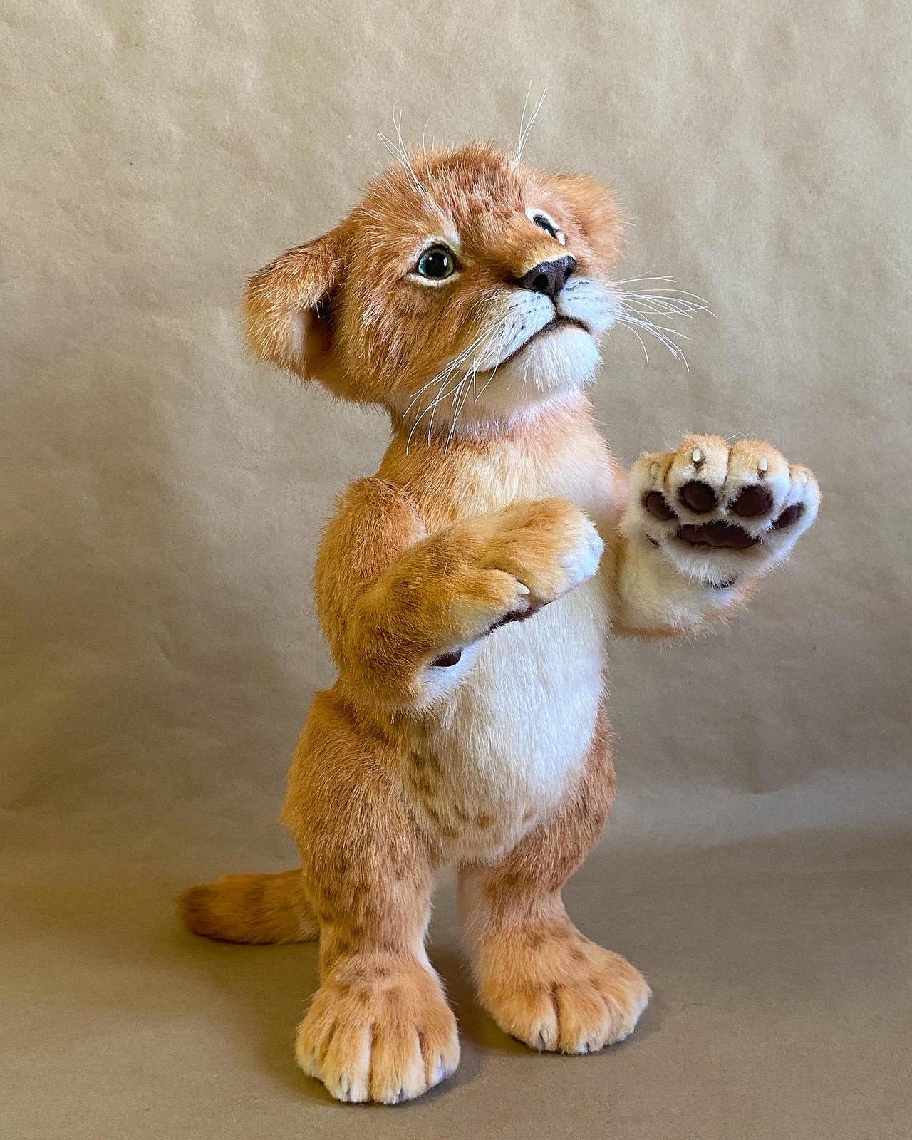 Lion cub James