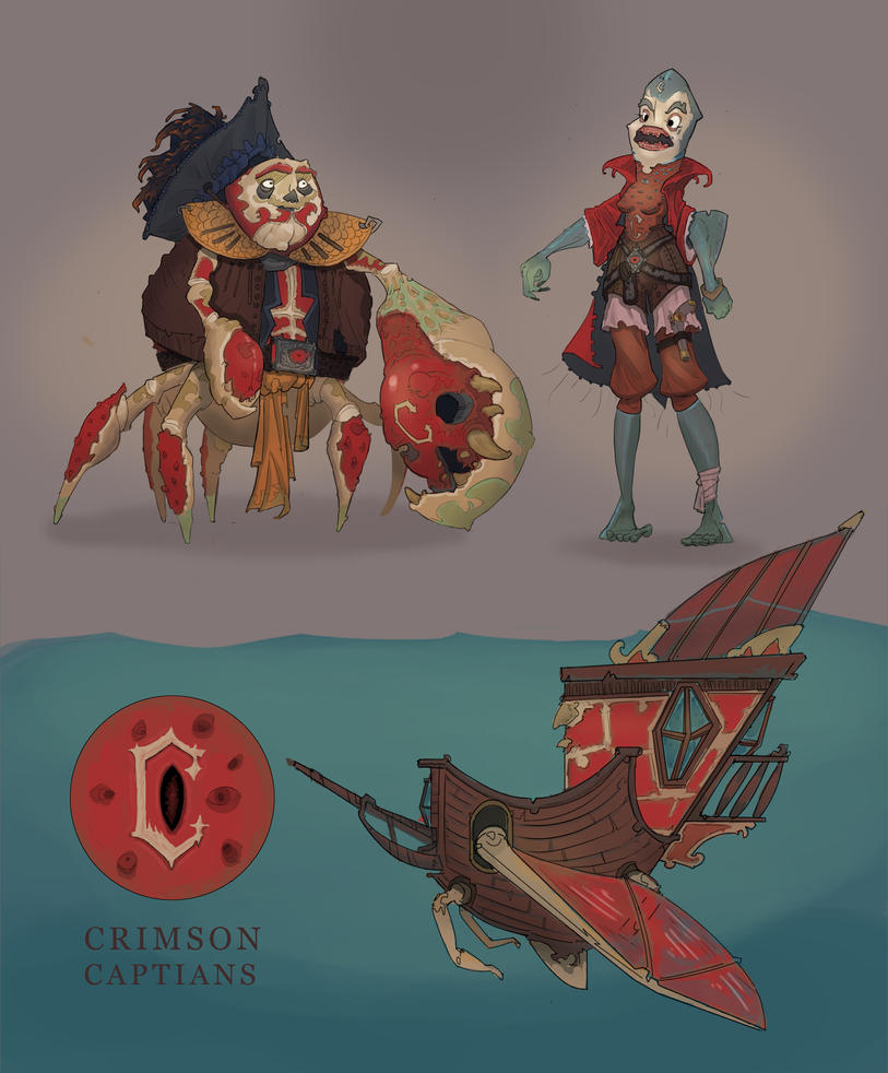 Crimson Captains by TREURNIET