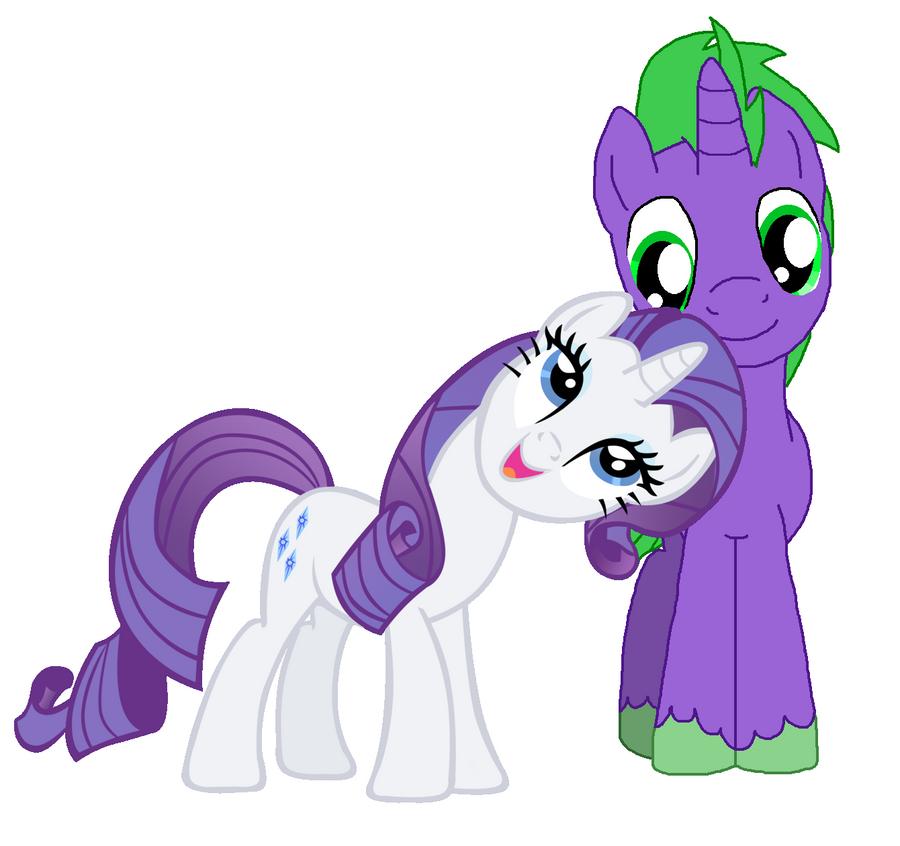 Rarity And Spike