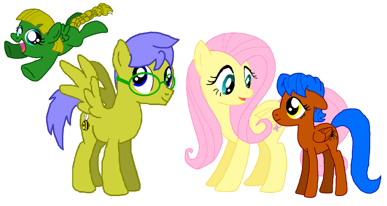 My Little Pony Fluttershys Parents Animalcarecollegeinfo