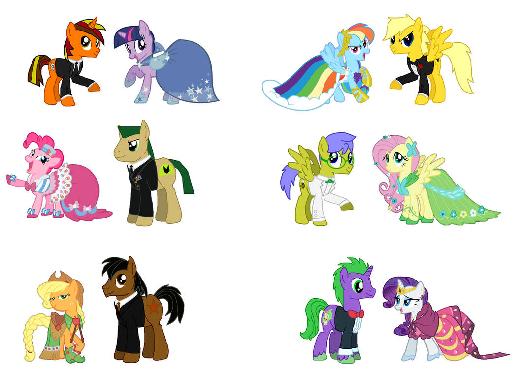 Mlp Main Six Gala Related Keywords Suggestions Mlp Main Six Gala
