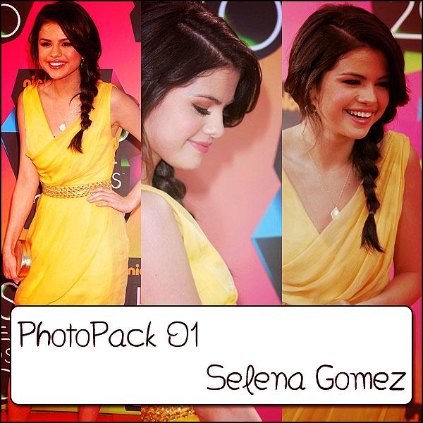 Photopack Selena Gomez OO1 by PhotoPacksEveryWhere