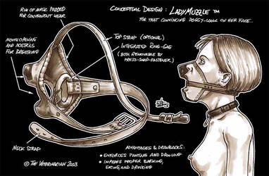 LadyMuzzle Concept Art by veterinarian