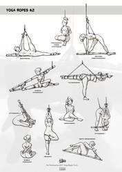 Yoga Ropes No.2 by veterinarian