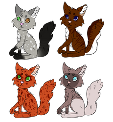 Cat Adopts! (4/4 Open) by sxgarcube