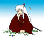 Inu and Butterfly