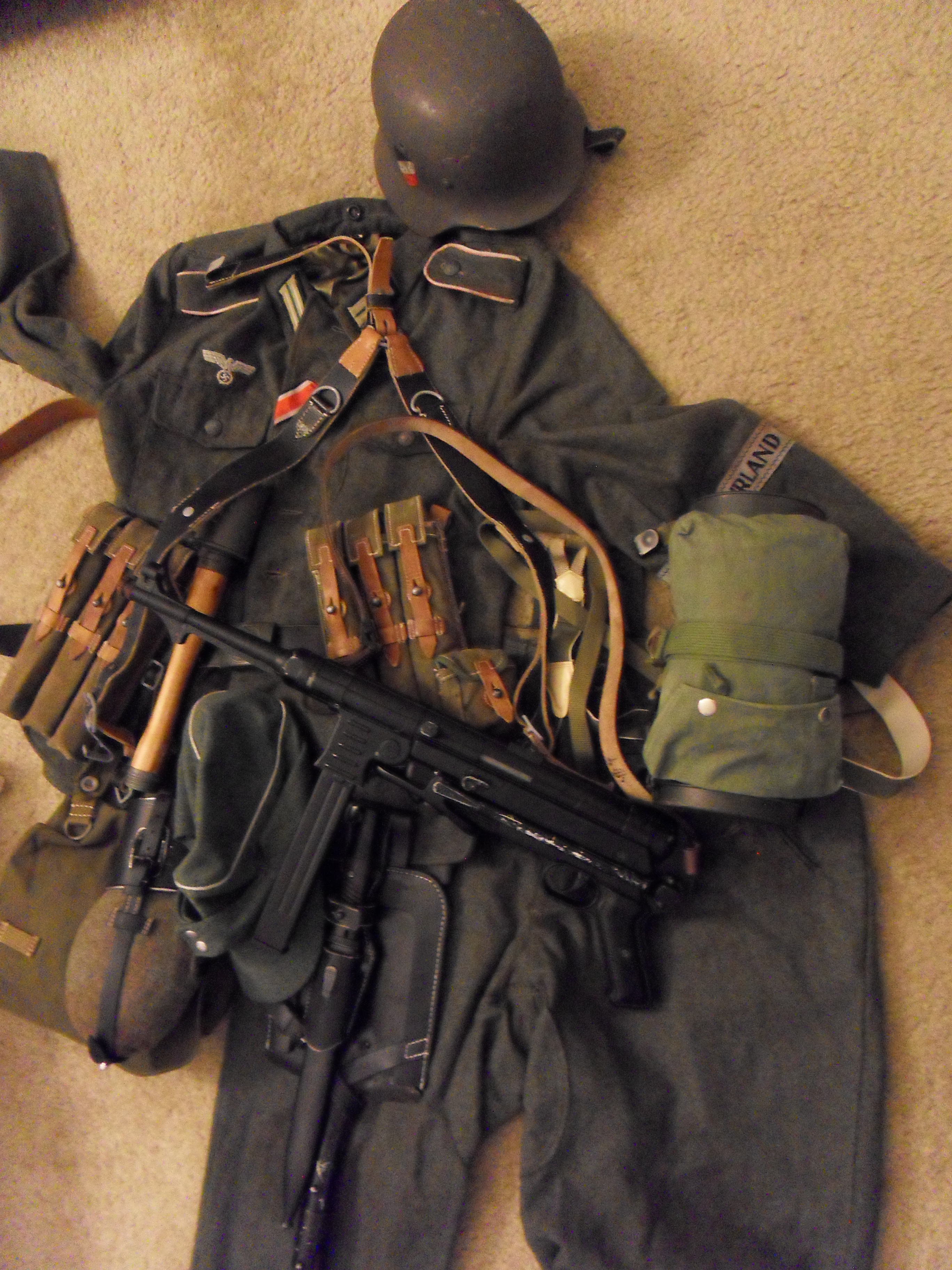 wehrmacht uniform by buster126 on deviantart