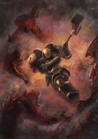 Warhammer 40K - Grey Knight by Br-Artemius