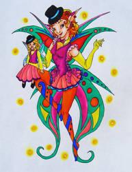 Corn Auras-Ventriloquist Fairy by KaeMcSpadden