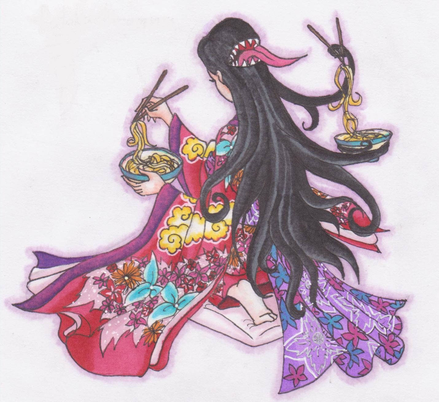 Gantz Yokai: Futakuchi-Onna By Ai-Don On DeviantArt