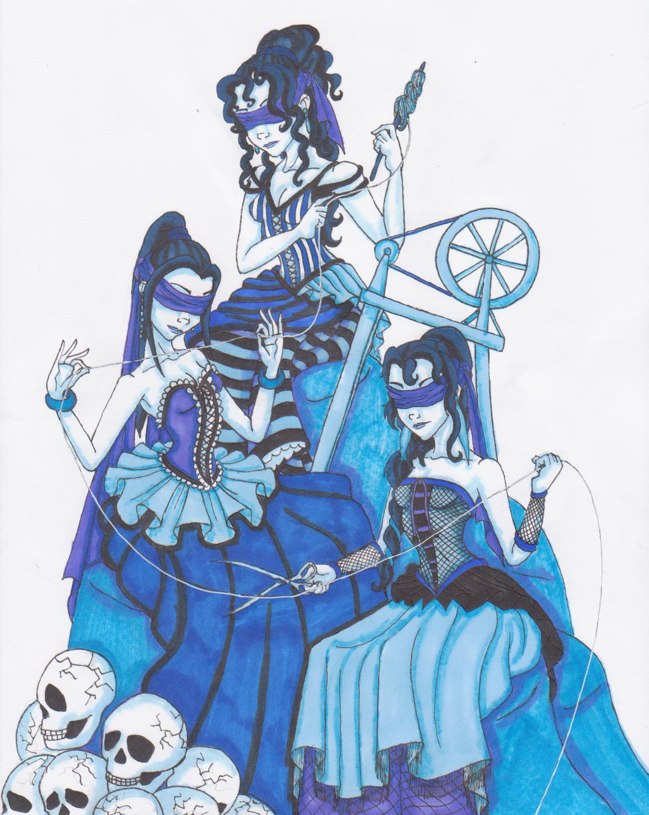 The Three Fates by Ai-Don