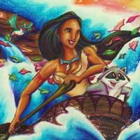 Pocahontas by KaeMcSpadden