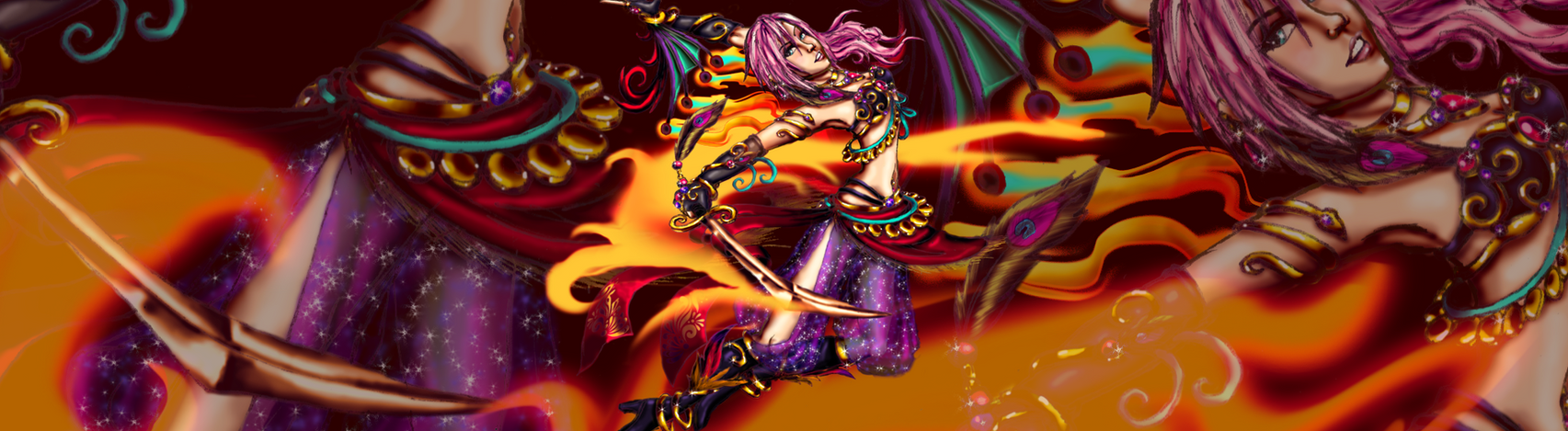 Lightning Returns-Hellfire's Dance by KaeMcSpadden