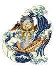 Sapporo-Hokusai's Legendary Brew