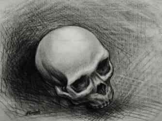 Skull No 2 by Isisnofret